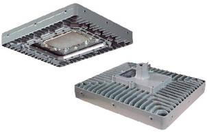 Explosion Proof LED Light Fixture operates on 347/480 Vac.