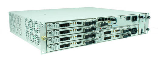 MicroTCA.4 Chassis offers high poerformance in 2U height.