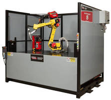 Pre-Engineered Robotic Welding Cell facilitates automation.