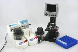 Resealable Interface facilitates microfluidic chip surface access.
