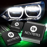 ON Semiconductor Unveils New Devices for Automotive Lighting Applications at Electronica 2014