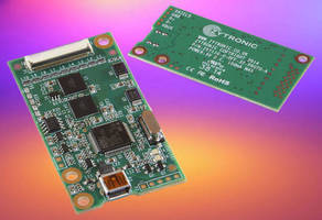 P-Cap Touch Controller supports large format sensing sensors.