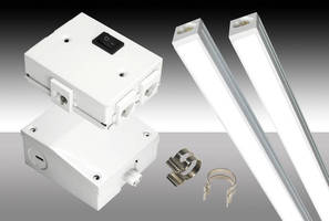 LED Lightbars can be used in damp/food processing environments.