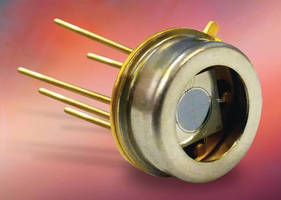 Photodiode offers 5 mm² active area in quadrant configuration.