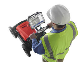 Ground Penetrating Radar System locates utilities.