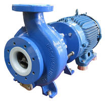Mag Drive Centrifugal Pumps safely handle corrosive fluids.