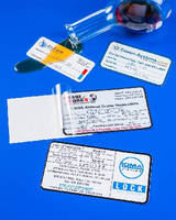 Self-Laminating Labels permanently record handwritten entries.