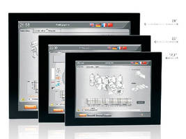 Widescreen Panel Displays feature single-touch operation.