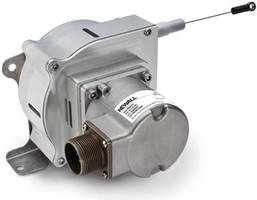 Draw Wire Encoder offers measurement range up to 125 in.
