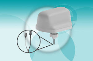Ceiling Mount MIMO Antenna offers inter-port isolation.
