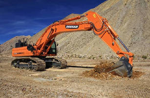 Doosan Expands Heavy Equipment Lineup with the Addition of Three Tier 4-compliant Crawler Excavators