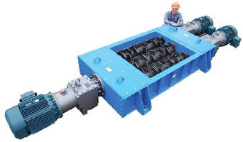 Size Reduction Crusher features low-friction cutter design.