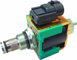 Solenoid Valve offers single-acting cylinder control.