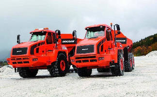 Articulated Dump Trucks have Tier 4-compliant diesel engines.