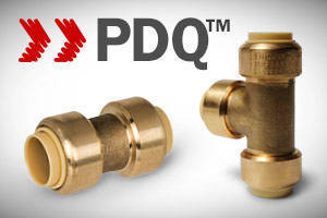 Preformed Copper Push Fittings feature no lead design
