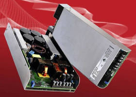 AC/DC Power Supplies have high-density design with 1U profile.