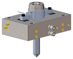 Single Needle Valve Gate Nozzle offers all-in-one construction.