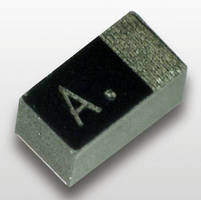 High-CV Polymer Tantalum Capacitors have small profile.
