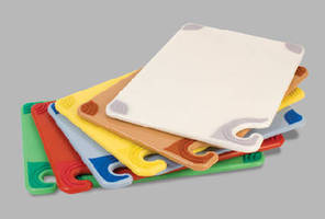 Color-Coded Cutting Boards help prevent cross contamination.