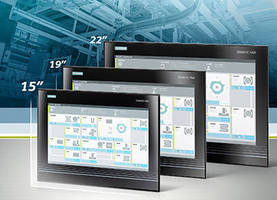 Flat Panel Monitor and Panel PCs feature 15 in. widescreen.