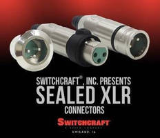 Sealed Connectors are suited for use in harsh environments.