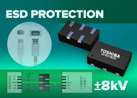 ESD Protection Diode protects high-speed interfaces.