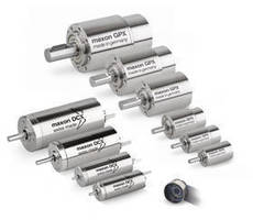 More Versions, More Power - New DCX Motors and GPX Gearboxes from Maxon