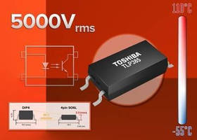 Transistor Output Photocoupler comes in low-profile package.