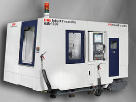 Horizontal Machining Centers offer wide range of part sizes.