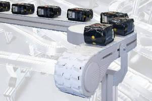 Flexible Chain Conveyor provides low-noise operation.