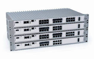 Industrial Routing Switches suit Edge Network applications.