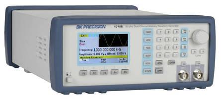 B&K Precision Rejuvenates Arbitrary/Function Waveform Generator Line
