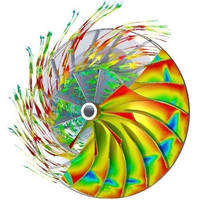 CFD Software includes sliding mesh model.
