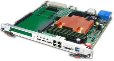 AdvancedTCA Carrier is designed for PCIe Gen 3 cards.