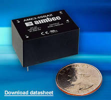 AC-DC Converters feature built-in EMI filtering.