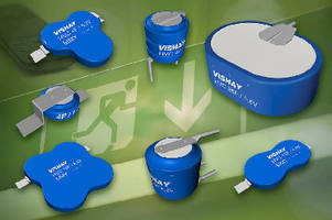 Energy Storage Capacitors feature energy density of 13 Ws/g.