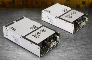 Single-Output 500 W Power Supply measures 4 x 6 x 1.67 in.