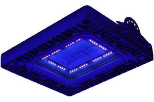 Ultraviolet LED Light Fixture targets paint spray booths.
