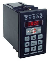 Process Meter detects, converts, and displays input signals.