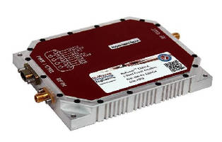 RF Power Amplifier features optimized SWaP profile.