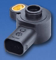 Compact Angle Sensor has return spring and 26 mm housing profile.