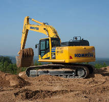 Hydraulic Excavator features EPA Tier 4 Final engine.