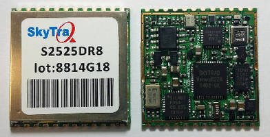 GNSS Receiver Module offers continuous positioning.