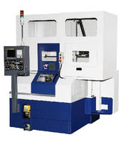 CNC Lathe accelerates small-part production.