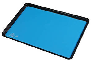 Rubber Liners for Cafeteria-Style Trays dissipate static.