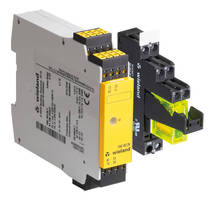 Contact Expansion Relays provide safety circuit outputs.