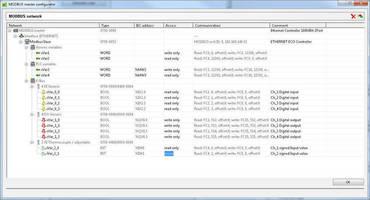 Modbus Configurator Simplifies PLC Setup