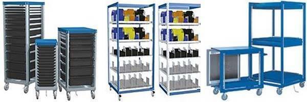 New BenchPro, Inc. Carts for Electronic Prouction