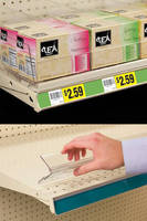 Customize Shelf Organization with Multi-Option Shelf Divider System