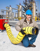 Insulated Blower Hose transfers heat to people and processes.